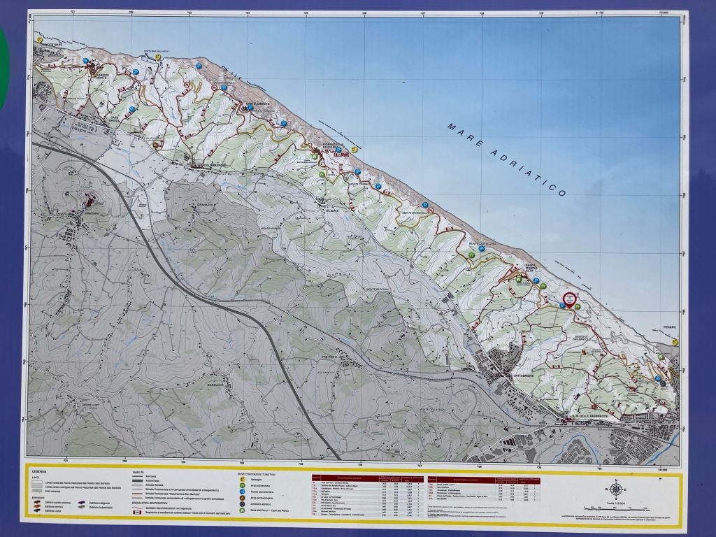 map of the path